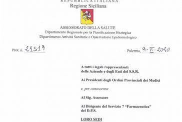 Sicilia. ISF: l'attività riprende dal 15 giugno negli ospedali e ambulatori del S.S.R., per i MMG e PLS già in vigore dal 25 maggio