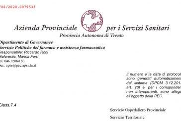 Provincia Autonoma Trento. La sospensione dell'attività degli ISF è prorogata al 15 giugno