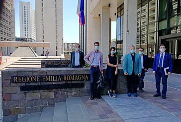 Delegazione Fedaiisf ricevuta in Regione Emilia-Romagna