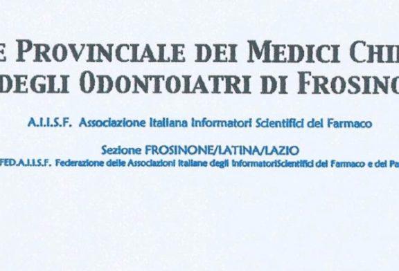 Frosinone. OMCeO pubblica il protocollo d'intesa con AIISF
