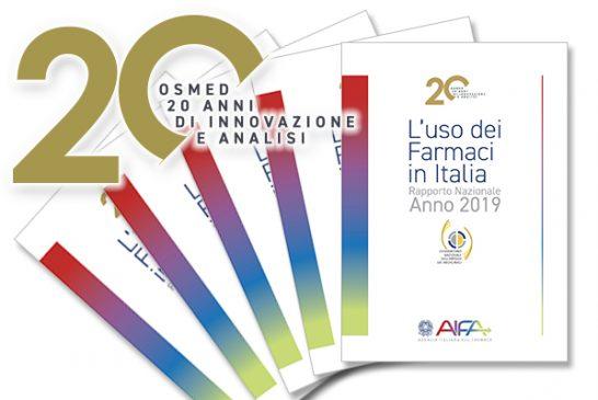 AIFA. Rapporto Nazionale OsMed 2019 sull'uso dei farmaci in Italia