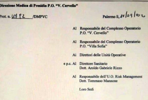 Palermo. Vietato l'accesso ISF all'ospedale