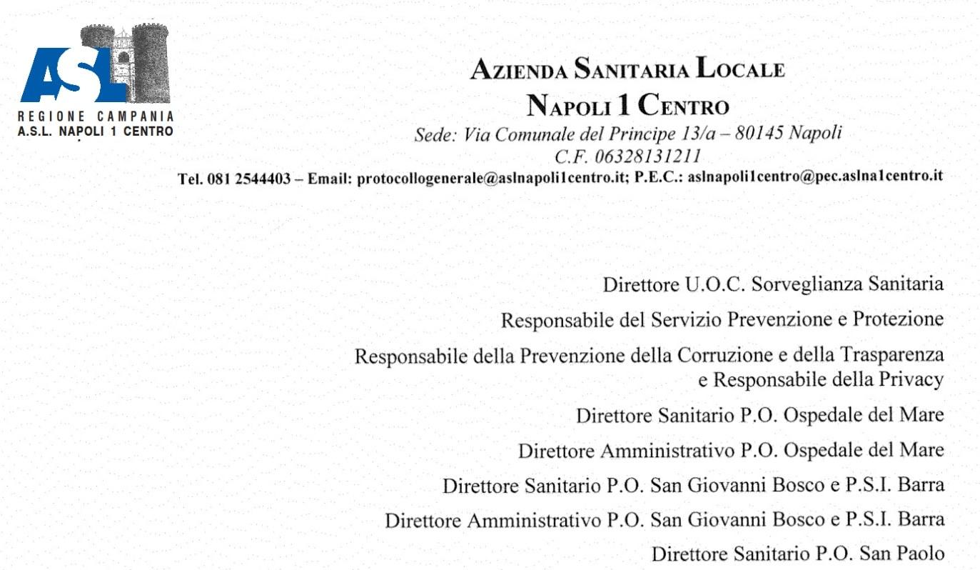 Campania. ASL Napoli 1 Centro: fino al 15 ottobre i rappresentanti non potranno accedere. Si presume che gli ISF non essendo rappresentanti abbiano libero accesso