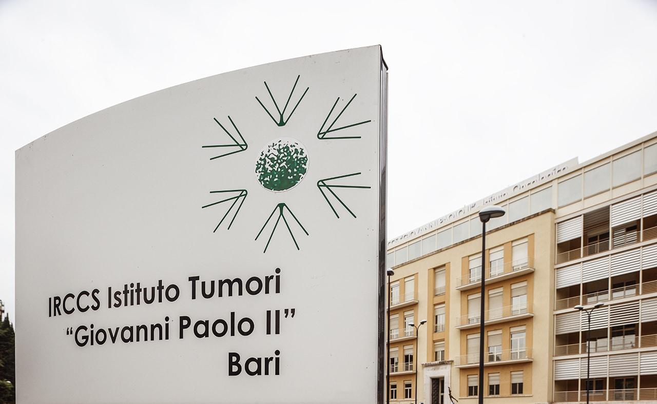 Bari. IRCCS Ist. Tumori Giovanni Paolo II: accesso vietato agli ISF