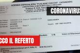 Cosenza. AO Annunziata Mariano Santo S.Barbara: accesso ISF previo tampone !