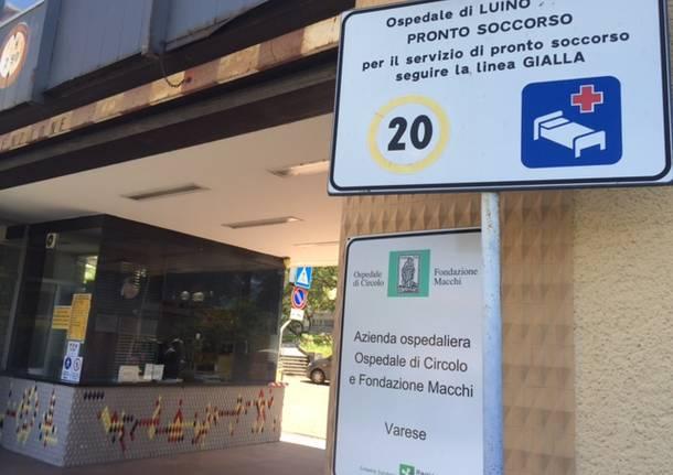 """Due focolai di Covid negli ospedali di Luino e di Angera: 24 i positivi. Gli """"untori"""" sono dipendenti e ricoverati. Nessun ISF coinvolto"""