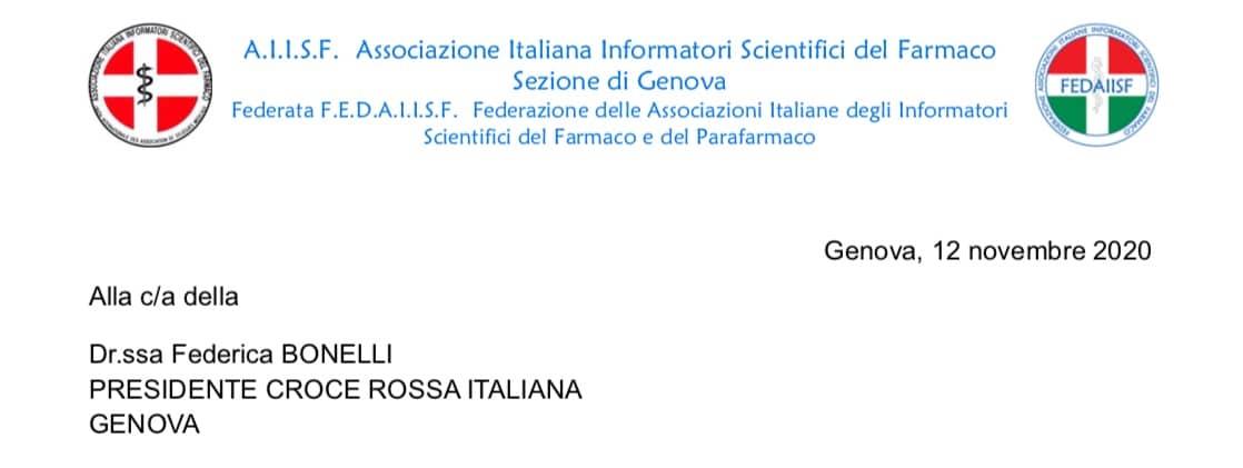 """AIISF Genova a CRI. Disponibili a """"Volontariato Temporaneo"""""""