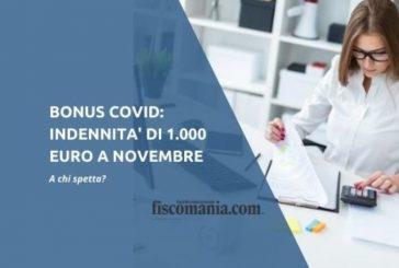 Indennità 1000 euro per coloro che hanno cessato, ridotto o sospeso la propria attività
