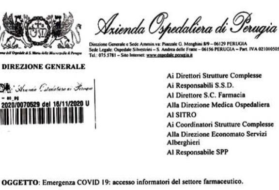 Perugia. Ospedale Santa Maria della Misericordia. Accesso regolamentato ISF iscritti Fedaiisf. I non iscritti devono registrarsi presso l'ospedale